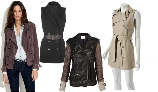 Shop Four New Trench Coat Styles for Fall 2010