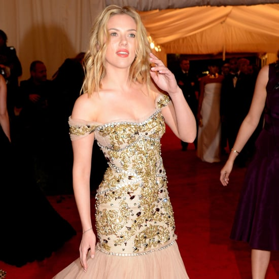 Scarlett Johansson Met Gala Dress Pictures 2012