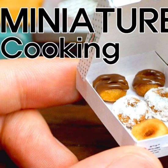 Miniature Doughnuts Video