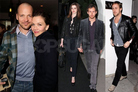 Photos of Anne Hathaway, Ryan Gosling, and Quentin Tarantino at Audi's Inglourious Basterds Party in LA 2010-02-10 11:30:00