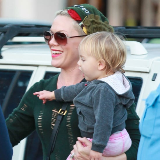 Pink and Willow Hart at the Playground in Malibu   Pictures