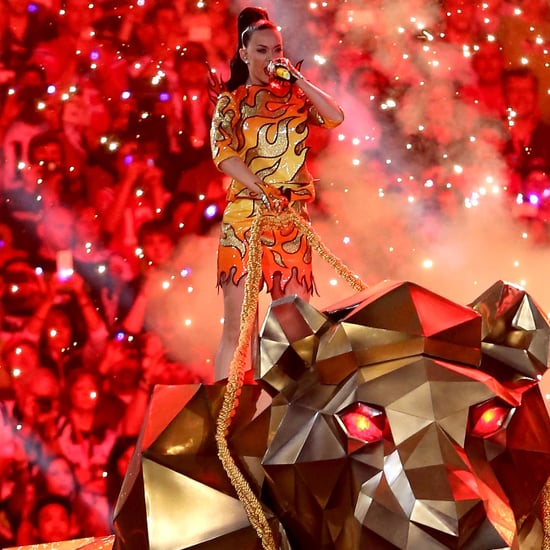 Katy Perry Set the Super Bowl Aglow With Her Wild Halftime Show