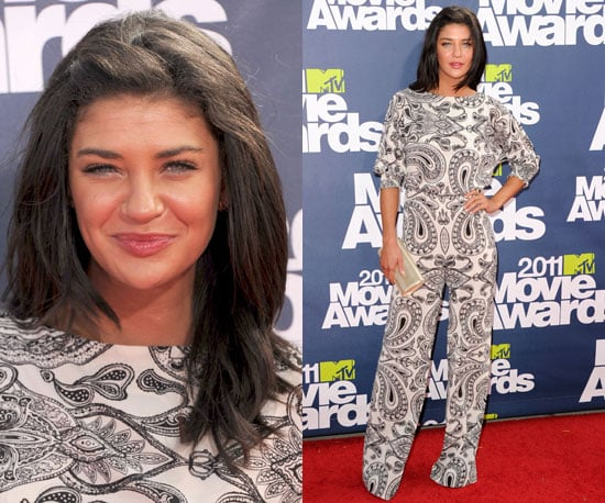 Jessica Szohr at 2011 MTV Movie Awards 2011-06-05 20:02:34