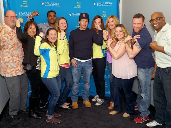 Mark Wahlberg Surprises Boston Marathon Charity Running Team and Vows to 'Get It Right' with Marathon Bombing Film