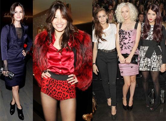 Celebs At Milan Fashion Week