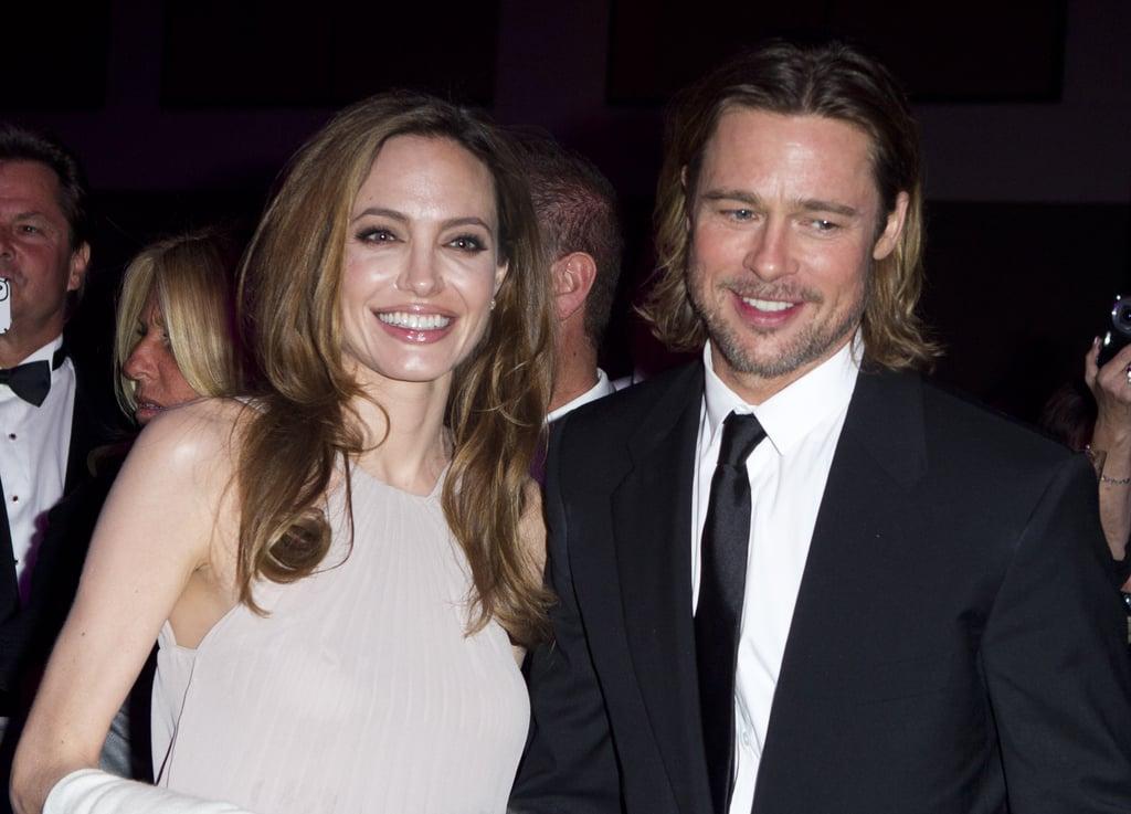 Brad Pitt kicked off his 2012 award season run at the Palm Spring Film Festival in January.