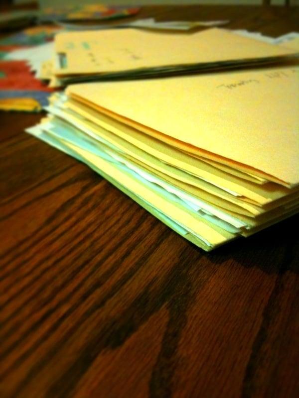 Copy Important Documents