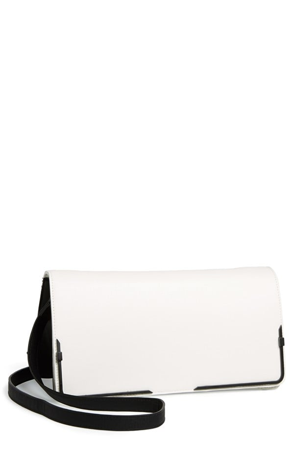 French Connection Prim Lady Faux Leather Clutch