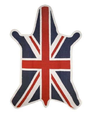 Love It or Hate It? Jonathan Adler Zebra British Flag Rug