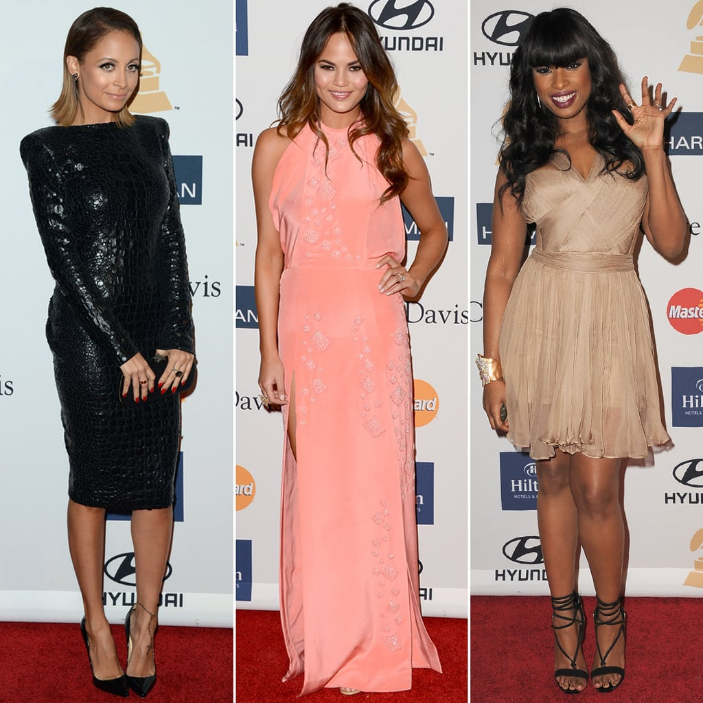 The Stars Glam It Up For Clive Davis's Pre-Grammy Party