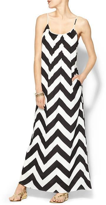 Tinley Road Chevron Stripe Maxi