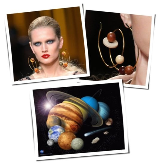 Louis Vuitton Earrings Are Out of This World