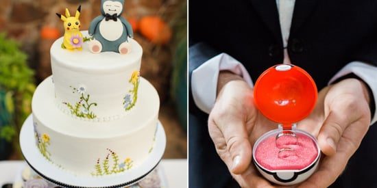 18 Geek-Chic Ideas For The Pokémon Wedding Of Your Dreams
