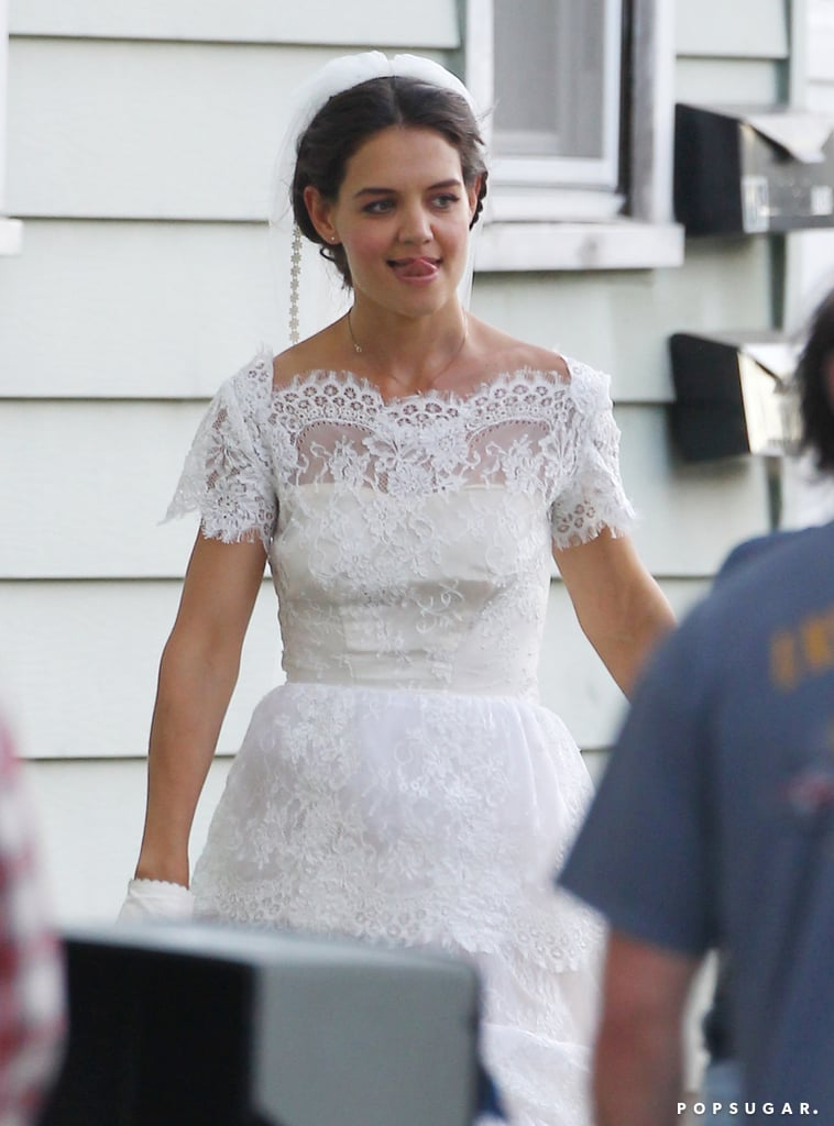 Katie Holmes Heads to the Altar — on Set!