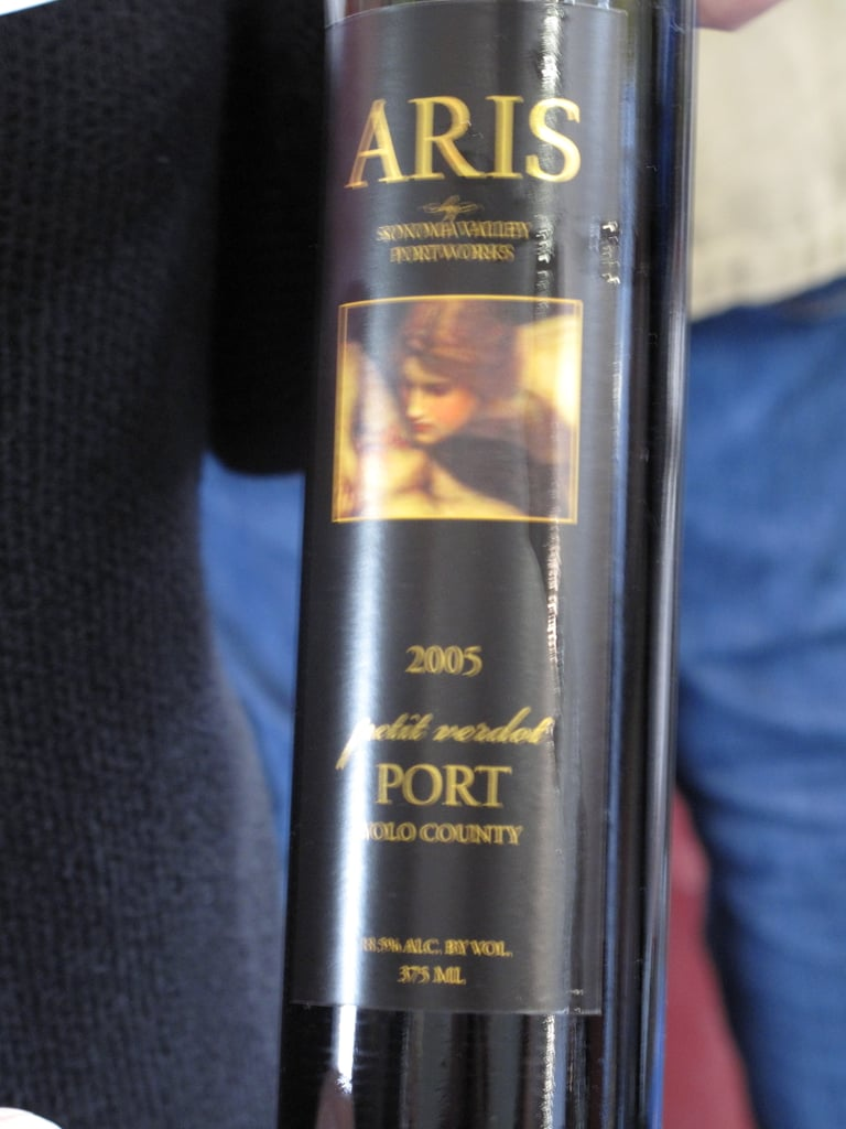 Considering I rarely see Petit Verdot used as anything but a blending grape, I was shocked when the pourer pulled out a bottle of Port that had been hiding. It was made with nothing but Petit Verdot.