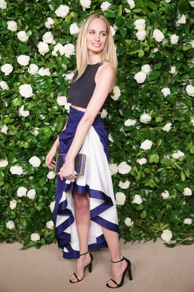 At MoMA's Film Benefit, Lauren Santo Domingo made waves in a ruffled design.