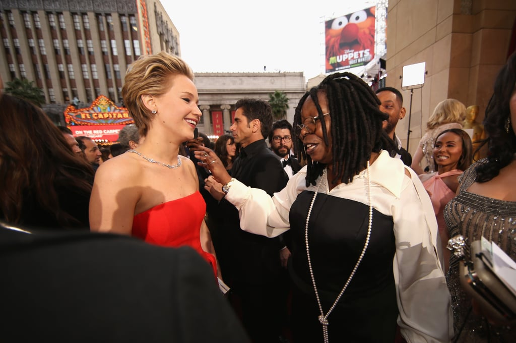 And Chatted With Whoopi Goldberg