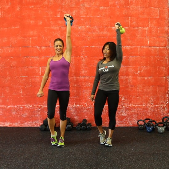 Kettlebell Exercises From CrossFit Trainer | Video