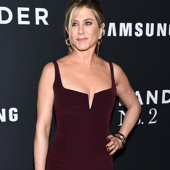 Jennifer Aniston Wears Galvan to Zoolander 2 Premiere