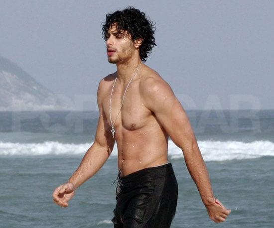 Slide Picture of Shirtless Jesus Luz in Brazil