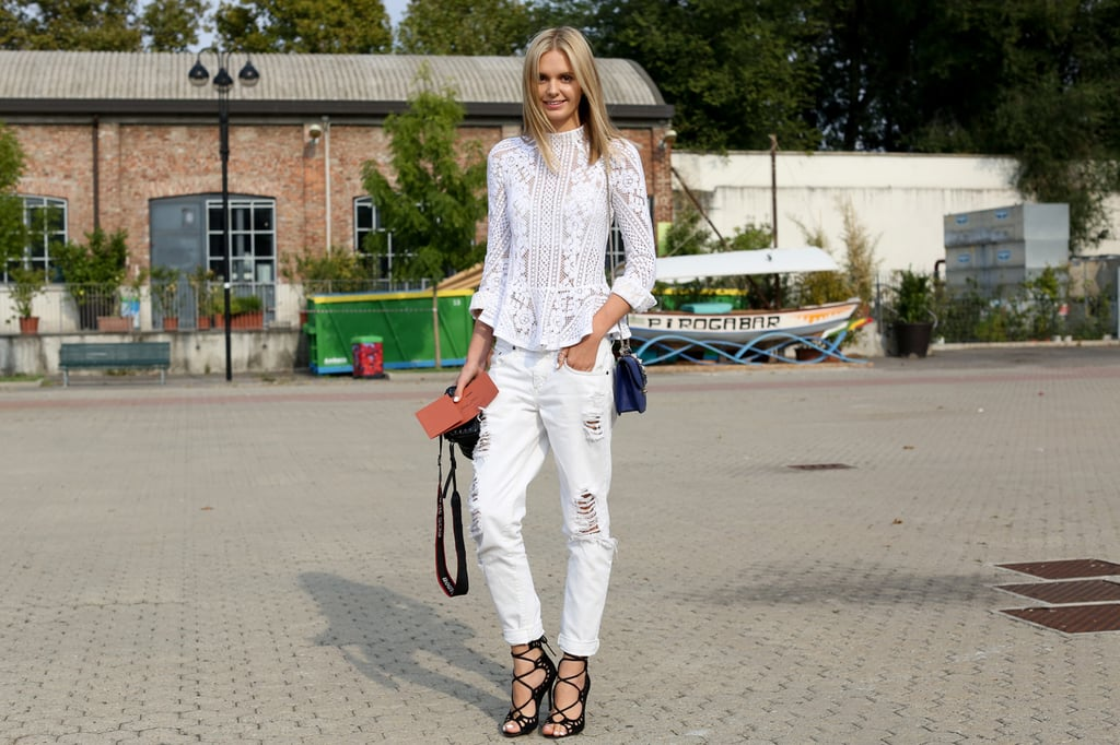 Save: White Jeans