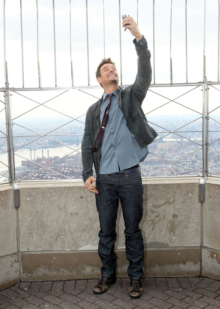 Josh Duhamel's Ecstatic Empire State Building Selfie