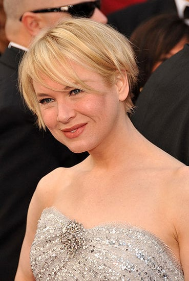 Renee Zellweger at the Oscars: hair and makeup