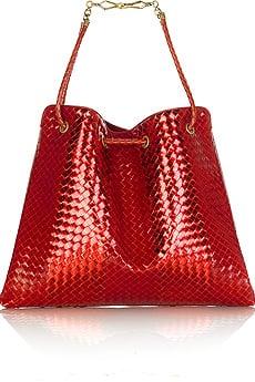 Trend Alert: Juicy Red Patent Handbags