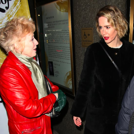 Sarah Paulson and Holland Taylor Broadway Date December 2015