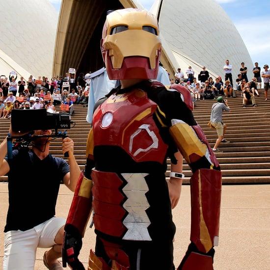 Make-A-Wish Australia's Iron Boy Video