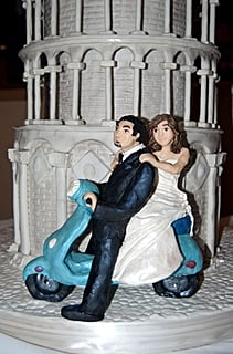 Cake Boss - Leaning Tower of Pisa Cake