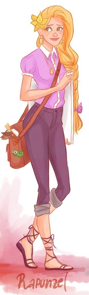 Hipster Rapunzel