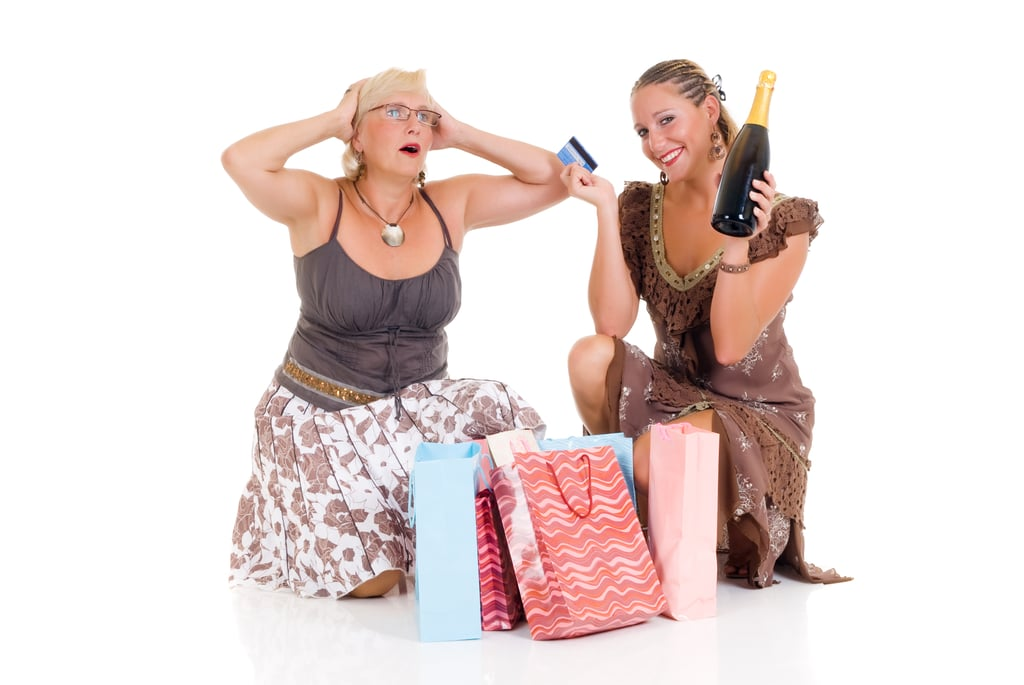 The Mom-Daughter Shopping Spree Gone Awry