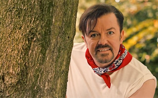 FROM EW: Ricky Gervais Revives The Office's David Brent for 'Lady Gypsy' Music Video