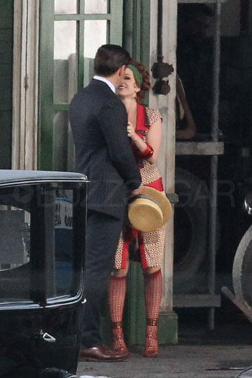 First look: Isla Fisher and Tobey Maguire film The Great Gatsby