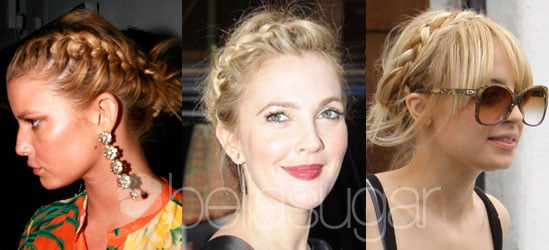 Pictures of Celebrities with Braids