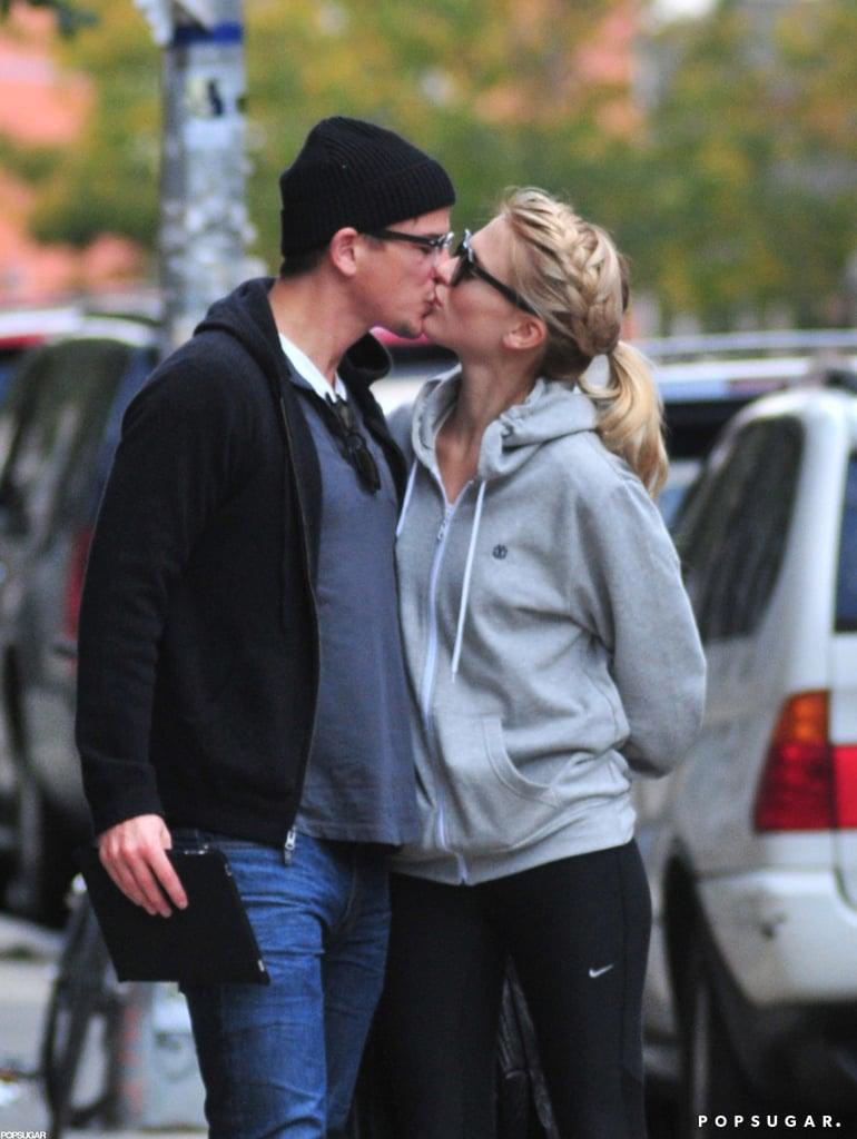 Josh Hartnett and Sophia Lie locked lips on the streets of NYC in October 2011.