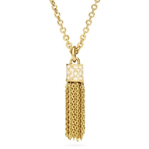 Short Tassel Necklace