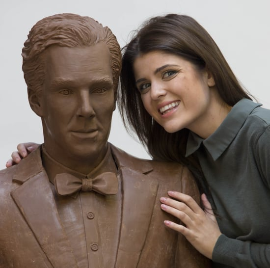 Benedict Cumberbatch Chocolate Statue Photos