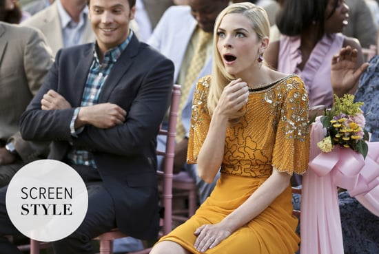 Dear Jaime King, We Want Your J.Crew Blouse and Floral Keds