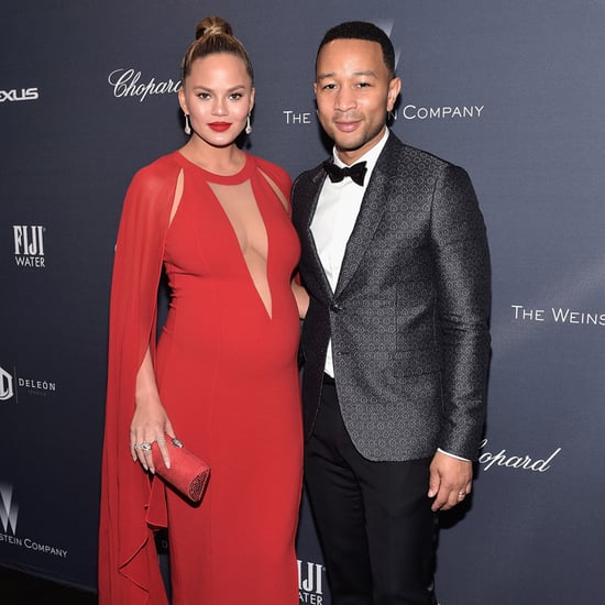 Chrissy Teigen and John Legend at Weinstein Party 2016