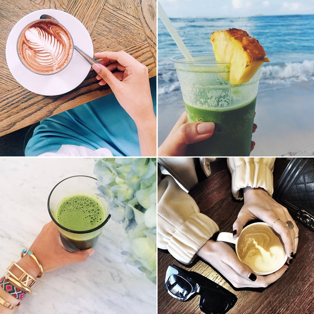 You Stay Energized With Coffee and Juices