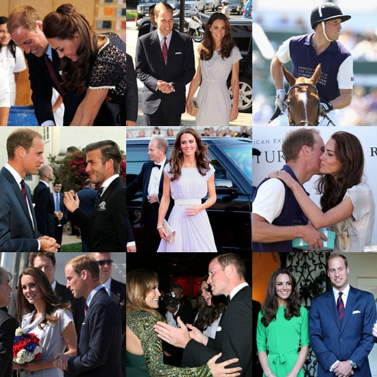 Pictures of Prince William and Kate Middleton's LA, California Visit