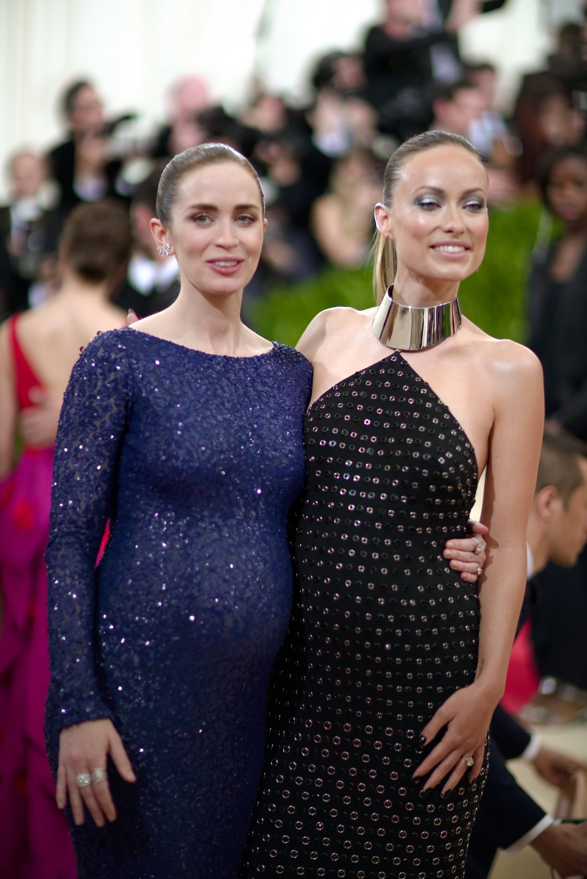 Pictured olivia wilde and emily blunt the 69 met gala for Klb gala preisliste 2016