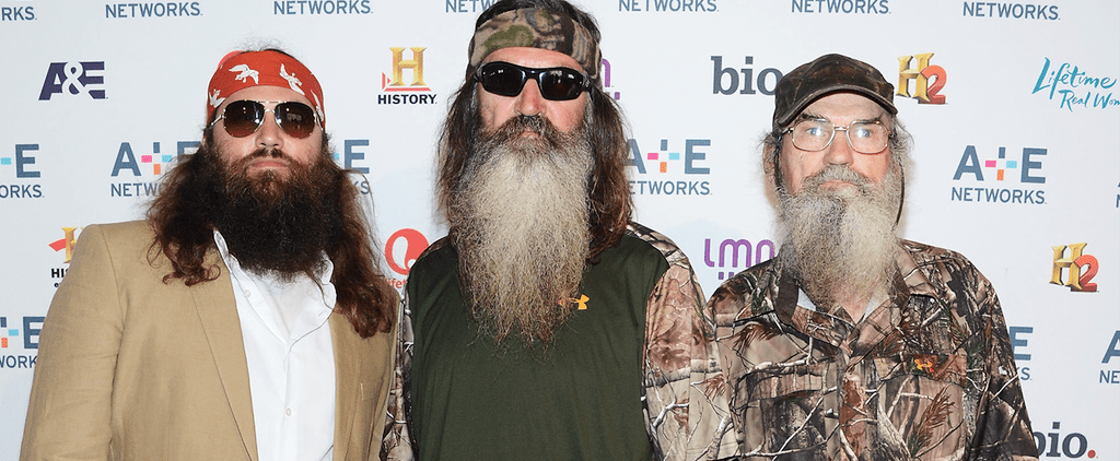 Duck Dynasty Drama on POPSUGAR Live!