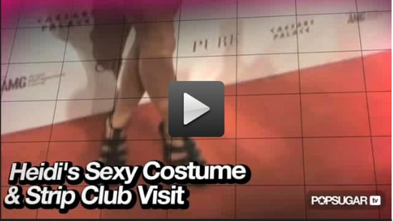 Video of Heidi Montag in Las Vegas For Halloween