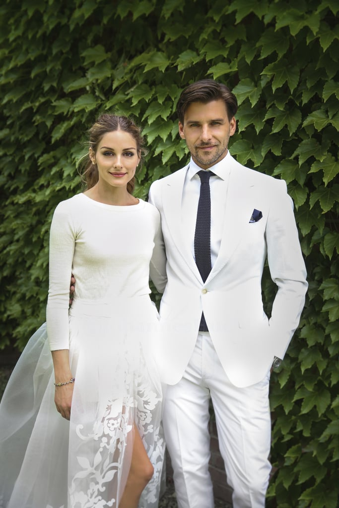 Olivia Palermo and her longtime partner, model Johannes Huebl, tied the knot in Bedford, NY, in June 2014.