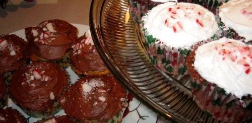Cupcake of the Week: Festive Black-Cherry Chocolate