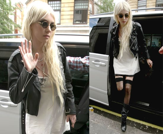 Pictures of Taylor Momsen at the Radio 1 Studios, Plus Watch Her Appearance on This Morning Where She Swore on Live Television