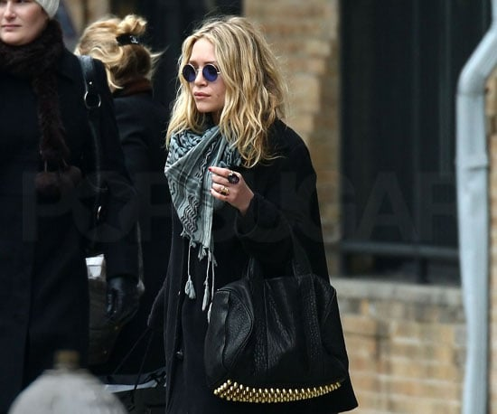 Photo of Mary-Kate Olsen and Ashley Olsen Leaving NYC's Soho House